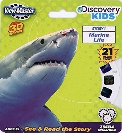 Discovery-Kids-ViewMaster-3D-Marine-Life-Full-3-Reel-Set-Model-Toys-Play