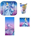Disney Cinderella Princess Party Pack for 8 Guest