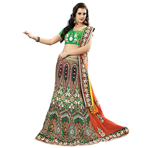 Aagaman-Fashion-Faux-Georgette-Sarees-TSPL2203Multi