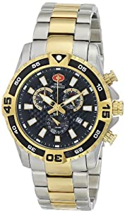 Swiss Precimax Men's SP13110 Falcon Pro Analog Display Swiss Quartz Gold Watch