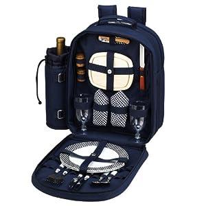 Picnic At Ascot Bold Picnic Backpack For 2 by Picnic at Ascot