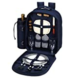 Picnic at Ascot Bold Picnic Backpack for 2