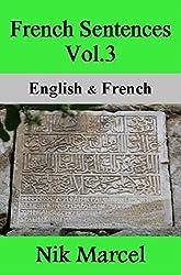 French Sentences Vol.3- English & French