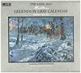 img - for The Lang Legends in Gray Calendar: Jackson and Lee book / textbook / text book