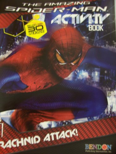 The Amazing Spider-Man Activity Book with Stickers ~ Arachnid Attack!