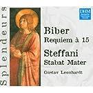 Biber : Requiem � 15 / Steffani : Stabat Mater