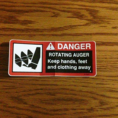 (USA Warehouse) John Deere 49 Snowblower Auger Rotating Decal 318,140,317,322 -/PT# HF983-1754347299