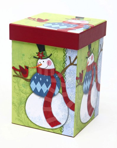 Boxed Ceramic Latte Travel Mug 17oz Flurries