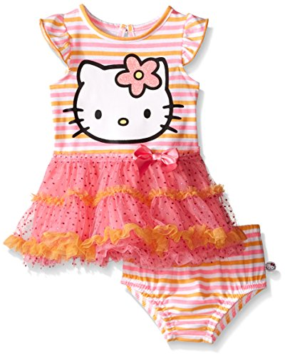 Hello-Kitty-Baby-Girls-Dress-Set