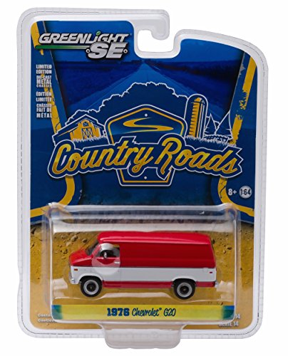 1976 CHEVROLET G-20 VAN * Country Roads Series 14 * 2016 Greenlight Collectibles 1:64 Scale Die-Cast Vehicle