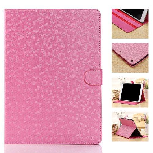 Smart Tech(Tm) Premium Slim Folio Case For Apple Ipad Mini/ Ipad Mini Retina (Wake Or Put Your Device To Sleep By Opening Or Closing The Case) (Diamond Case-Pink) front-564591