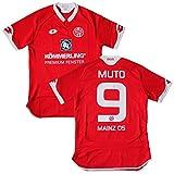 Lotto(ロット) 2015-16 マインツ05 ホーム半袖 ユニフォーム #9 MUTO 武藤嘉紀 (インポートL)
