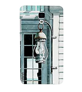 Omnam Laltern Hanging On Door Designer Printed Back Cover Case For Xiomi 4