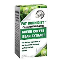 Trending in the News Green Coffee Bean Extract Diet Supplement, 40 Count