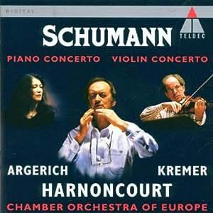 Robert Schumann: Piano Concerto/Violin Concerto
