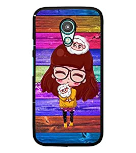 PrintDhaba Specy Girl D-4662 Back Case Cover for MEIZU M1 NOTE (Multi-Coloured)