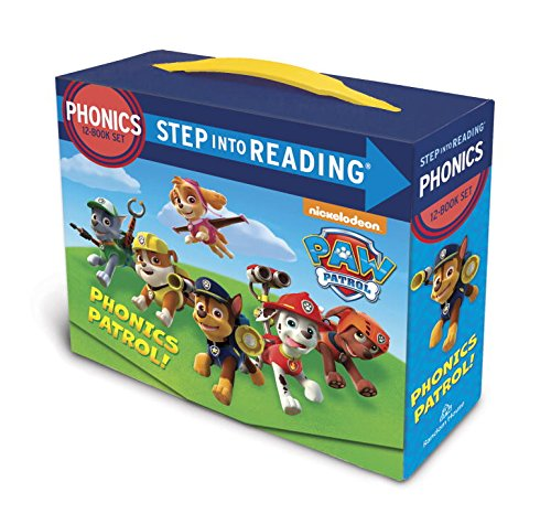 Paw Patrol Phonics Box Set (Step Into Reading: Paw Patrol)