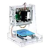 NEJE JZ-6 250mW レーザーDIY彫刻機 USB彫刻機 彫刻機 プリンタカーバー 小型 軽量 USB対応 250mW 自動DIY彫刻機 保護メガネ付き( JZ-6)