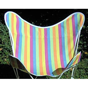 Cabana Stripe Butterfly Chair Replacement