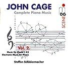 Cage: Complete Piano Music Vol. 2