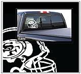 San Francisco 49ers Helmet Large Car Truck Boat Decal Skin Sticker