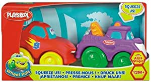 Playskool - 77641480 - Jouet 1er âge - Mini Ptimou Duo - Fire truck et 4x5