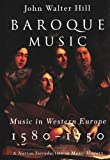 Baroque Music: Music in Western Europe, 1580-1750 (The Norton Introduction to Music History)