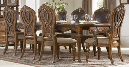 Buy Low Price Homelegance Dining Table of Golden Eagle Collection by Homelegance (1437-120)