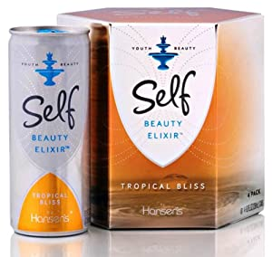 Self Beauty Elixir Tropical Bliss, 8-Ounce Cans (Pack of 12)