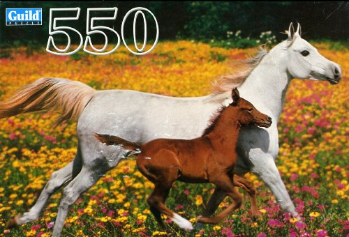 Guild 550 Piece Puzzle - Mare and Foal