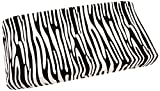 One Grace Place Jazzie Jungle Boy Changing Pad Cover, White and Black