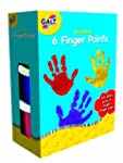 Galt Toys 6 Finger Paints Washable
