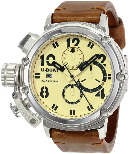 U-Boat Men's 7107 Chimera Silver 925 Watch