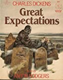 GREAT EXPECTATIONS (BY CHARLES DICKENS) (NOT A CD!) (AUDIOTAPE CASSETTE ABRIDGED AUDIOBOOK) (LISTEN FOR PLEASURE, LFP 7074)