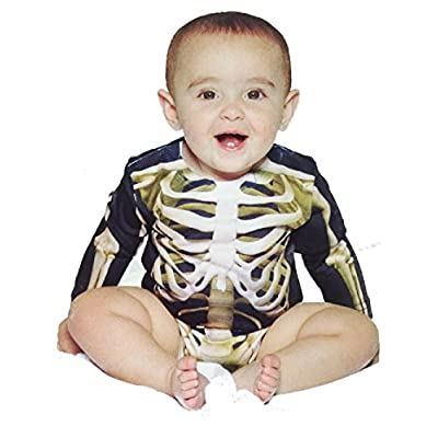 Infant Skeleton Costume Romper