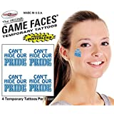 Cant Hide Our Pride Temporary Tattoos 25 Sheets