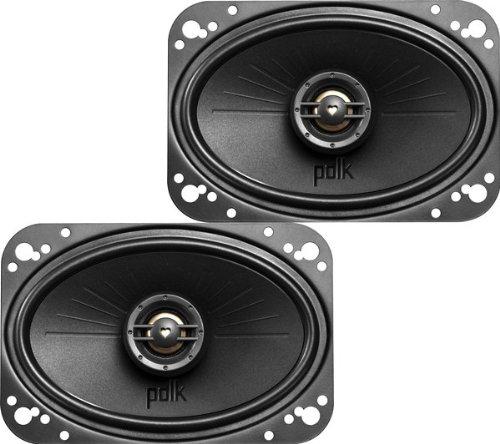 """Polk Audio Dxi461 4""""X6"""" 2-Way Car Speakers"""