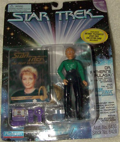 Star Trek Next Generation Action Figure - Dr Katherine Pulaski