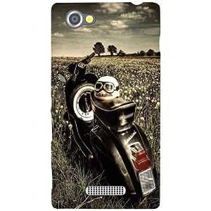 Sony Xperia M Back Cover - Vintage Love Designer Cases