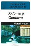 echange, troc Marcel Proust - Sodoma y Gomorra - En Busca del Tiempo Perdido IV
