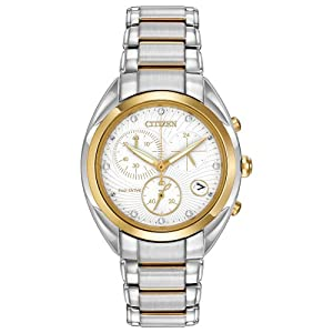 Citizen Women's FB1394-52A Celestial Analog Display Japanese Quartz Two Tone Watch