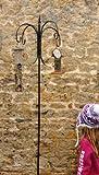 4 Way bird feeder crook