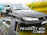wind deflectors PEUGEOT 406 5doors Estate 4parts   wind Peugeot Estate deflectors 5doors 4parts