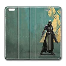 buy Iphone 6 6S Plus Leather Case Pu Material Hard Shell Flip Credit Card Holder Magnetic Stand Video Game Logo Poster Pattern Character Screen Adventure Fighting-Destiny