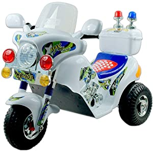Lil' Rider(TM) MaxOut Police Motorcycle Battery Operated Lil' Rider(TM) MaxOut Police Motorcycle Ba