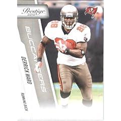 2010 Panini Prestige Football Cards # 188 Derrick Ward - Tampa Bay Buccaneers - NFL...