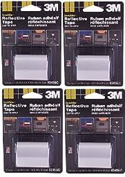 3M 03456C Scotchlite Reflective Tape, 2-Inch x 36-Inch, Silver