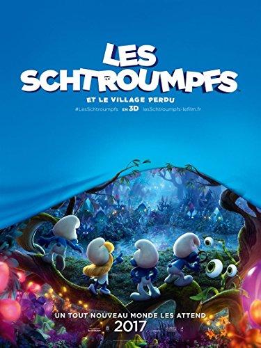 affiche-cinema-preventive-grand-format-les-schtroumpfs-et-le-village-perdu-format-120-x-160-cm-pliee