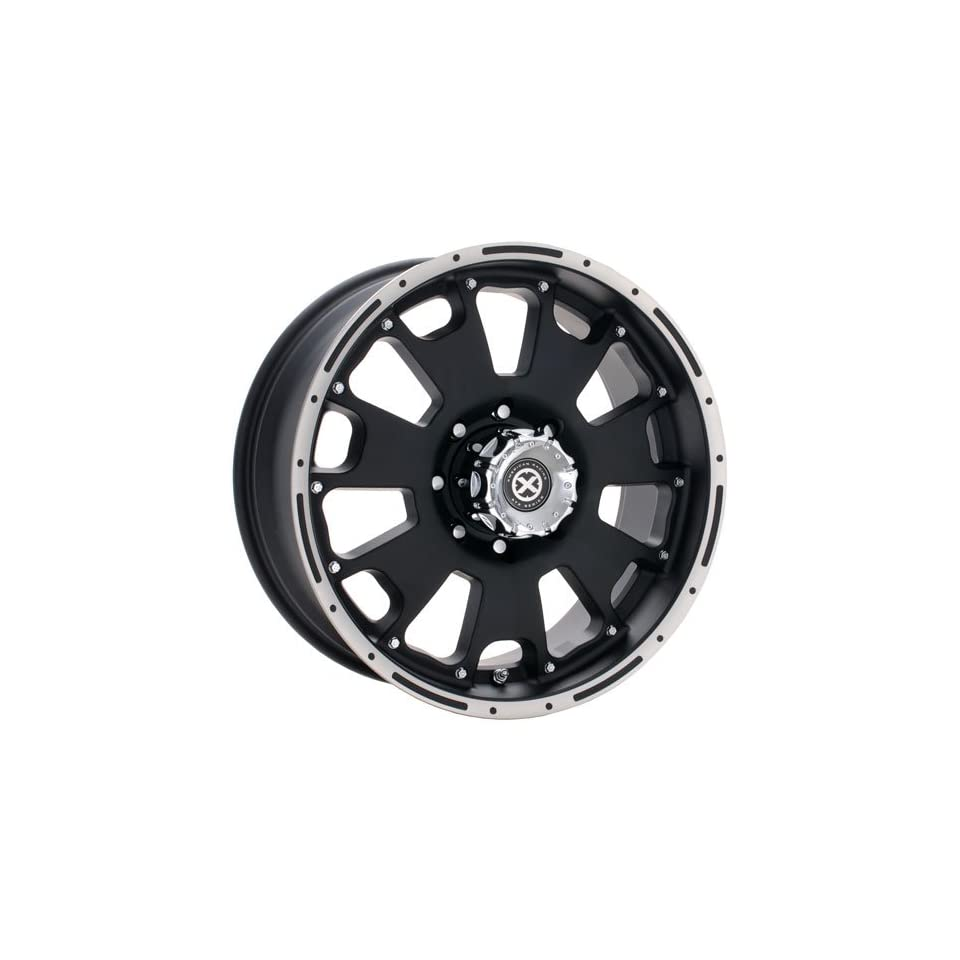 American Racing ATX Vice AX1076 Matte Black Wheel with Machined Face (18x8.5)