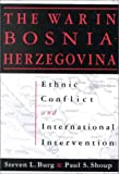 img - for Ethnic Conflict and International Intervention: Crisis in Bosnia-Herzegovina, 1990-93 book / textbook / text book